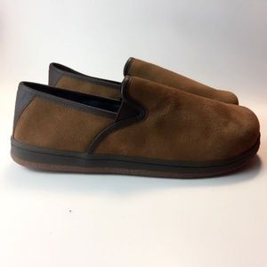 L.B. Evans Authentic Suede Leather Slippers